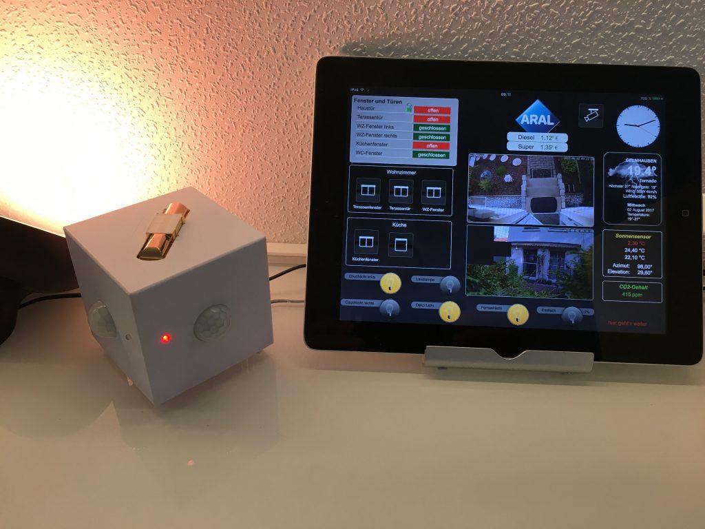 WIFFI-wz mit CO2-Sensor MH-Z14
