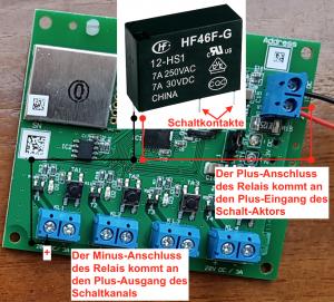 HM-LC-Sw4-Ba-PCB zur Steuerung von VELUX Dachfenster