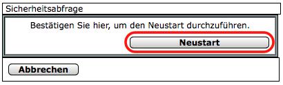 CCU2 - Neustart