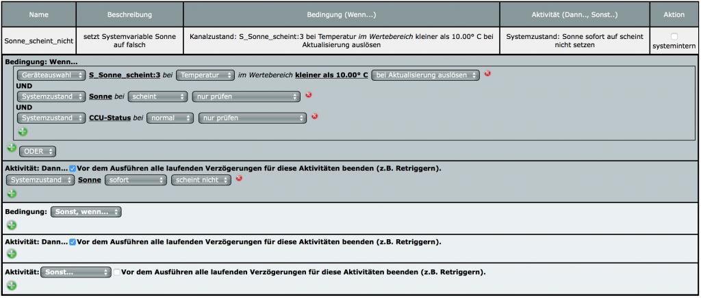 """Programm """"Sonne_schein_nicht"""""""