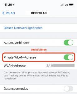 iOS 14 -Kein Zugriff auf die CCU
